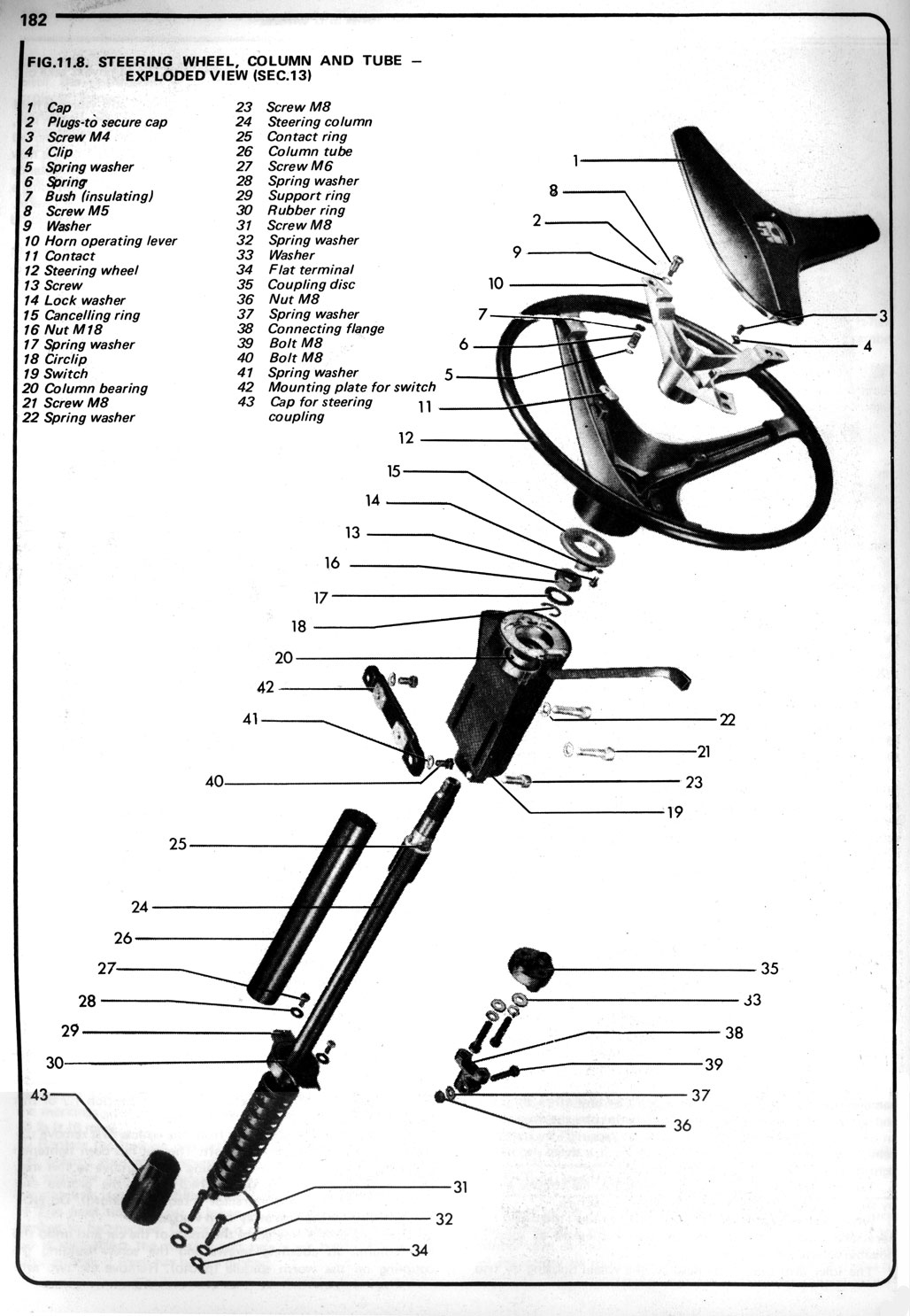 1972 Vw Steering Column Wiring Harness 38 Diagram Images 77 Van Wheel 1 Thesamba Com 411 412 View Topic Type 4 Wheels